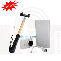 Экшн камера Xiaomi Yi Sport Camera Basic Edition White + Power Bank 5000 mAh