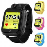 Smart Baby Watch Q100 (GW1000) Black с камерой